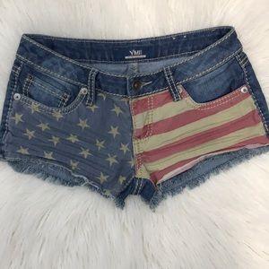 YMI cut off blue jean shorts